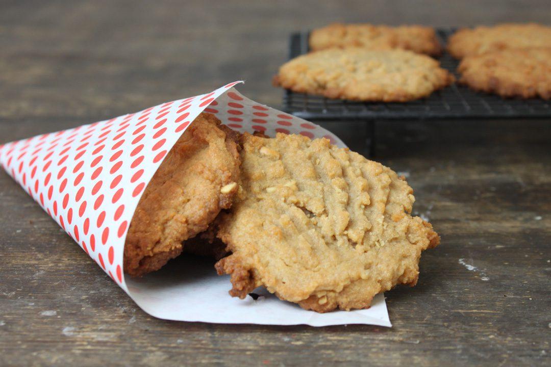 Erdnuss kekse rezept vegan