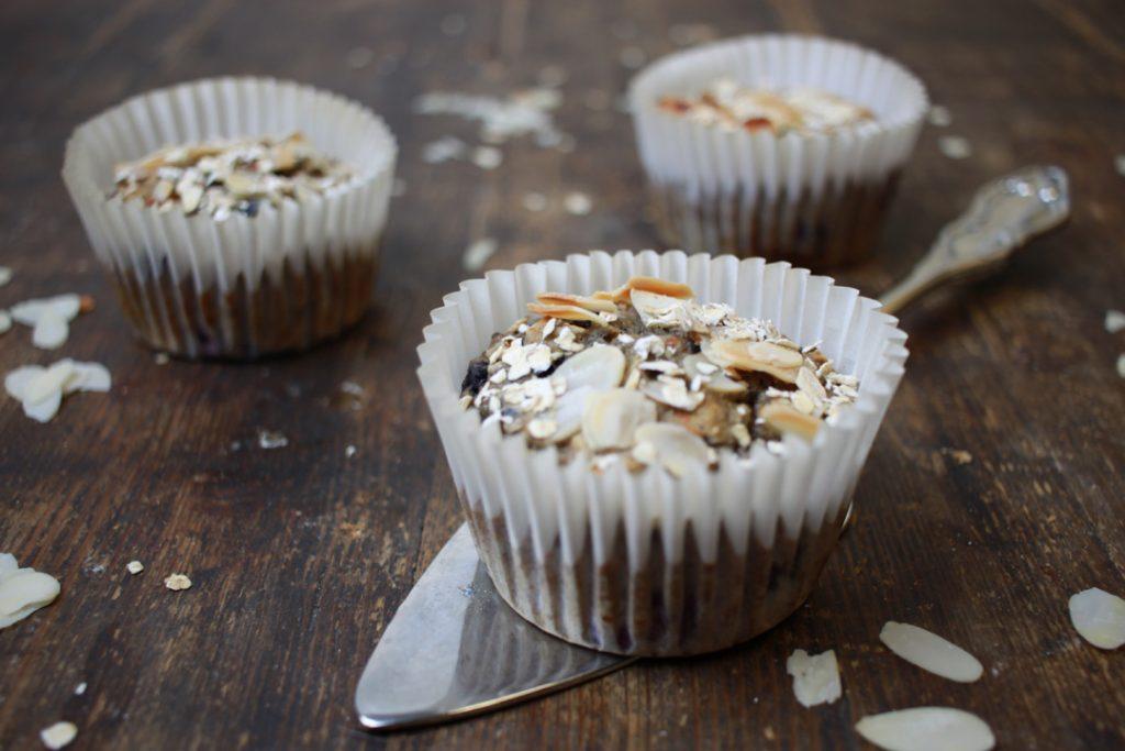 Vegane Frühstücksmuffins bringen alles mit, was Ihr für ein ausgewogenes Frühstück braucht