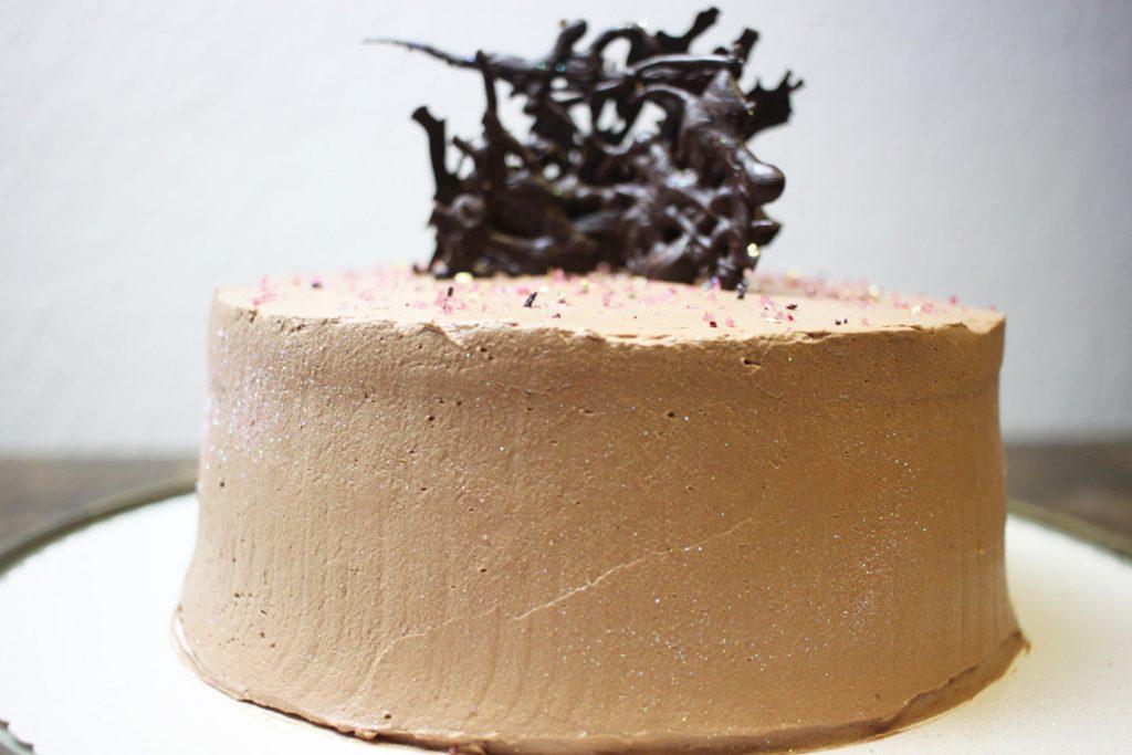 Lässt die Herzen von Schokoladen-Fans höher schlagen: vegane Schokoladentorte