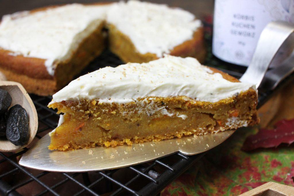 Wenn es keine Cupcakes sein sollen: Auch in einer Springform könnt Ihr den Pumpkin Pie gut backen