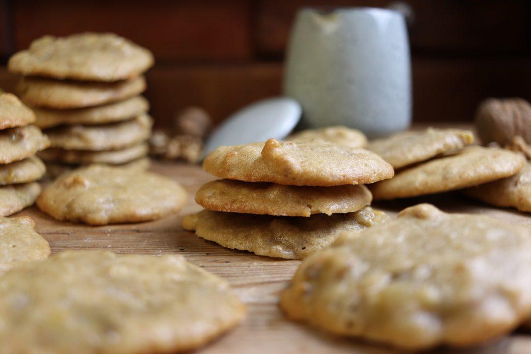Soft Cookies Vegane Bananen Walnuss Kekse Brokkolibastards