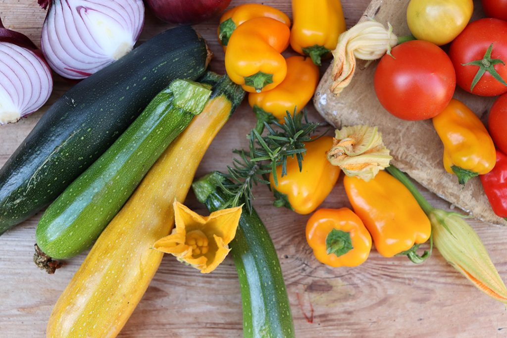Mit frischem Gemüse punktet das Ratatouille